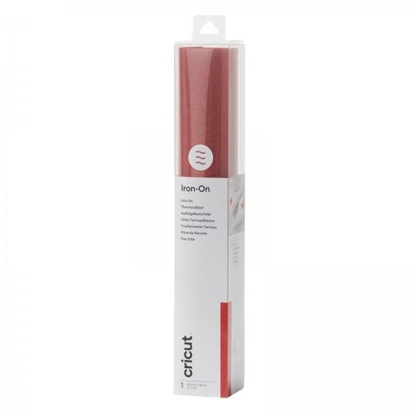 Cricut Glitter Iron-On Red