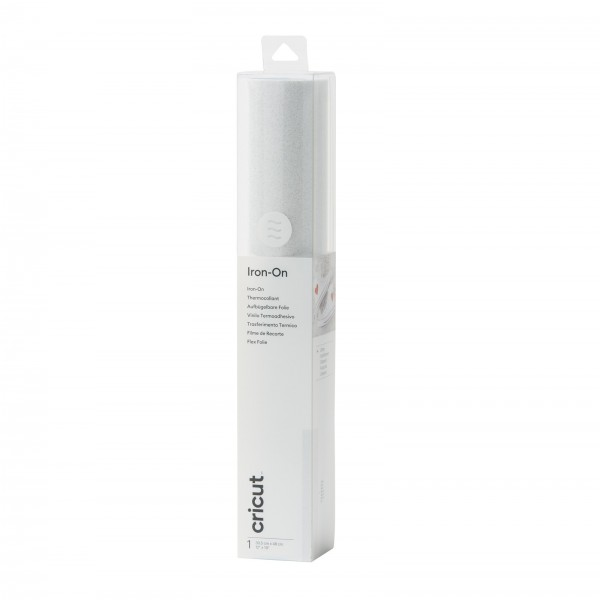 Cricut Glitter Iron-On White