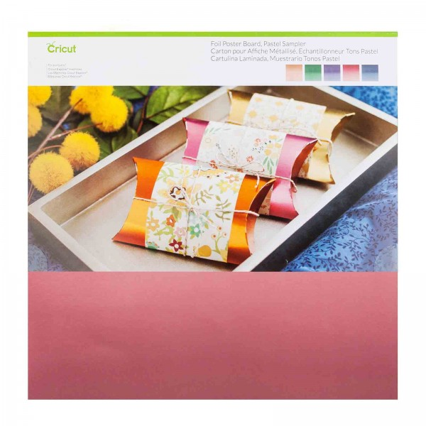 Cricut Foil Poster Board, Pearl Sampler 10 ark