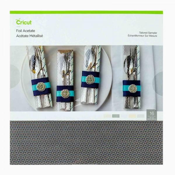 Cricut Tailored Foil Acetate Sampler 16 ark