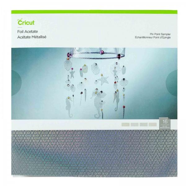 Cricut Pinpoint Foil Acetate Sampler 16 ark