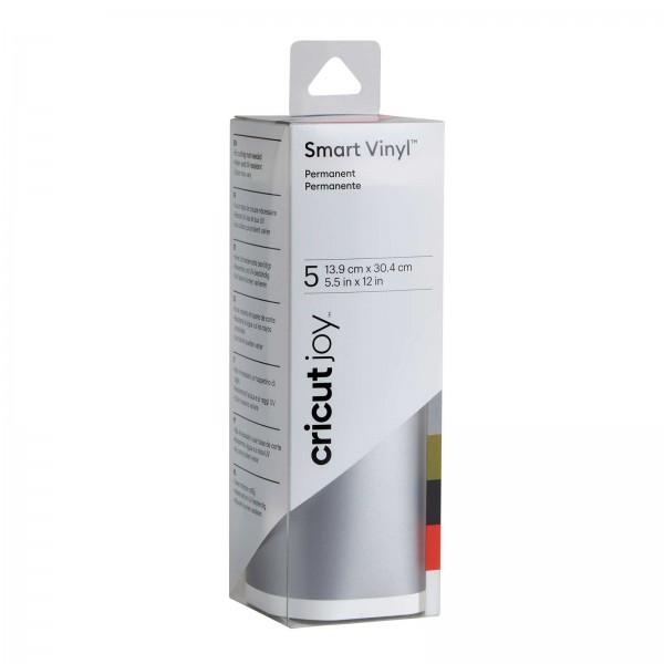 Cricut Smart Vinyl Permanent 5 farver