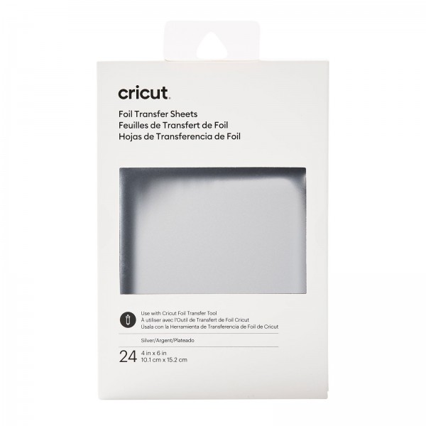 Cricut Transfer Foil Sheets Silver 24ark