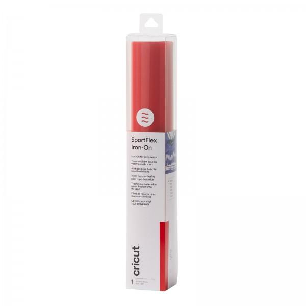 Cricut SportFlex Iron-On Red